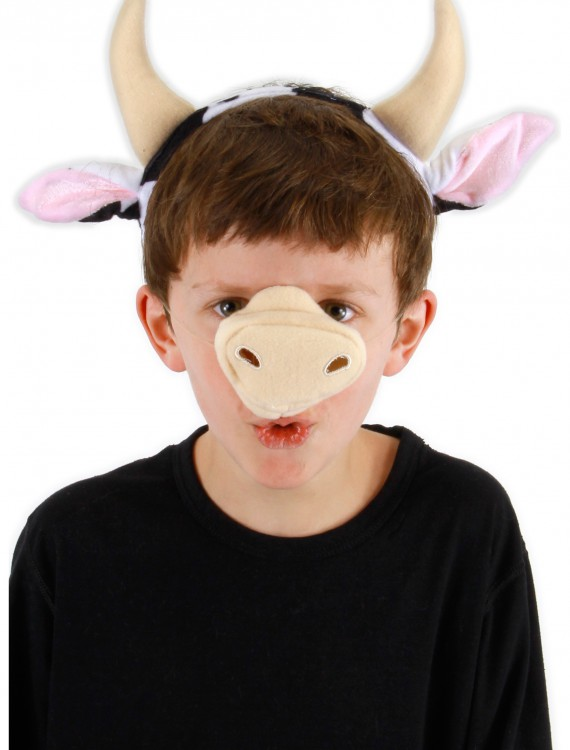 Cow Ears and Tail Set, halloween costume (Cow Ears and Tail Set)