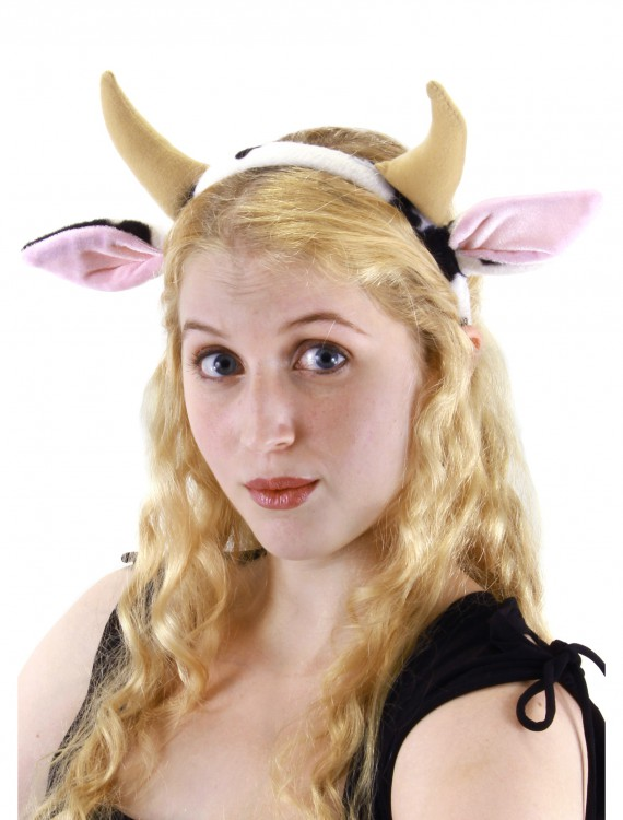 Cow Headband, halloween costume (Cow Headband)
