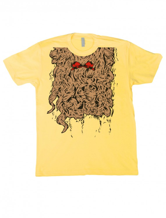 Curly Lion Costume T-Shirt, halloween costume (Curly Lion Costume T-Shirt)