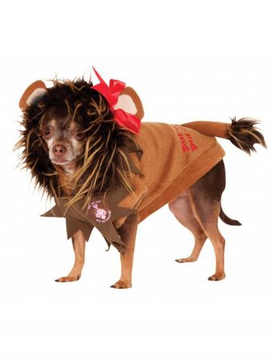 Cowardly Lion Pet Costume, halloween costume (Cowardly Lion Pet Costume)