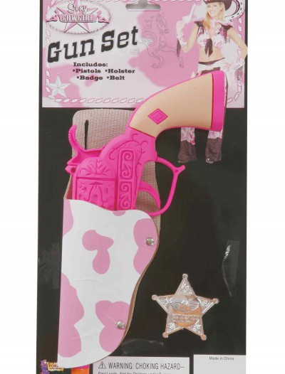 Cowgirl Gun and Holster Set, halloween costume (Cowgirl Gun and Holster Set)
