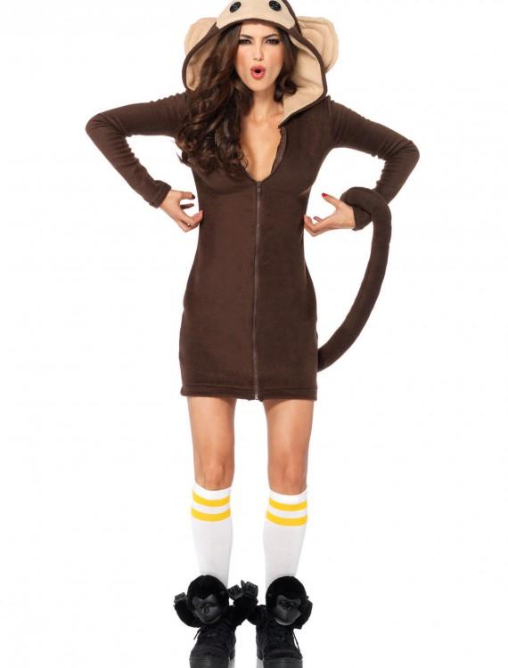 Cozy Monkey Costume, halloween costume (Cozy Monkey Costume)
