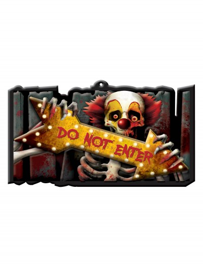 Creep Carnival Vacuform Sign, halloween costume (Creep Carnival Vacuform Sign)