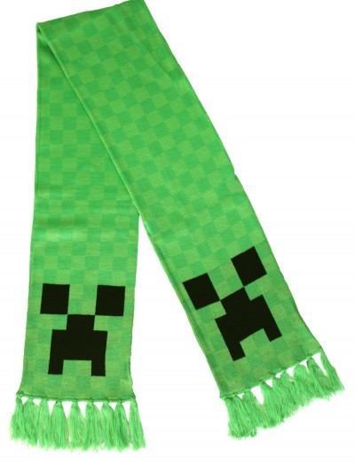 Creeper Scarf, halloween costume (Creeper Scarf)