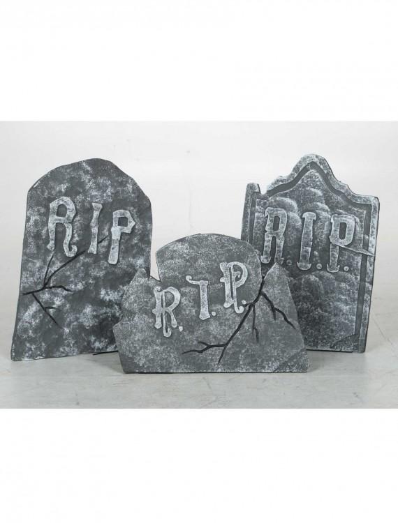 Crooked Stone Tombstone Set, halloween costume (Crooked Stone Tombstone Set)