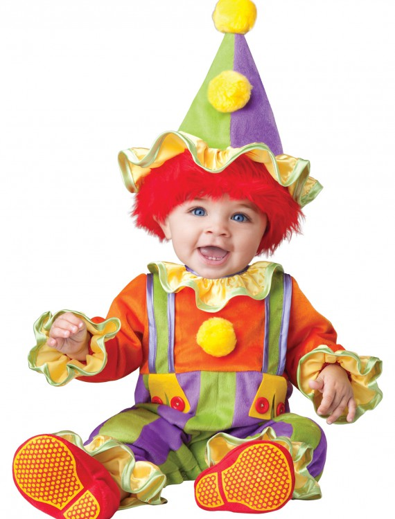 Cuddly Clown Costume, halloween costume (Cuddly Clown Costume)