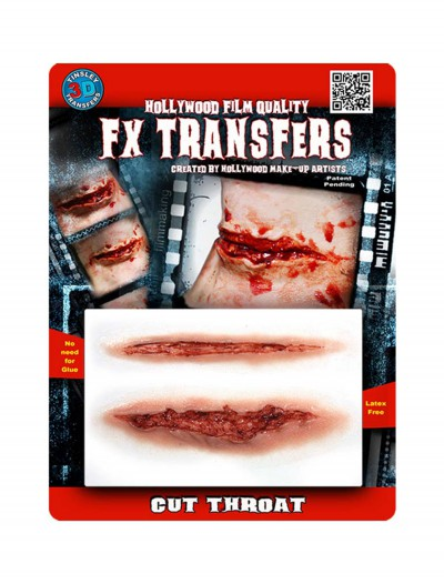 Cut Throat FX Transfer, halloween costume (Cut Throat FX Transfer)