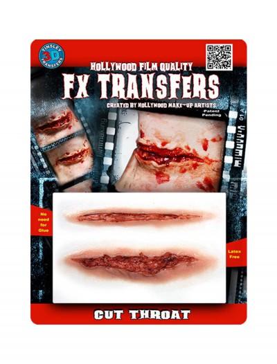 Cut Throat FX Transfer, halloween costume (Cut Throat FX Transfer)