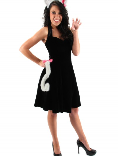 Cute Kitty White Ears & Tail Set, halloween costume (Cute Kitty White Ears & Tail Set)