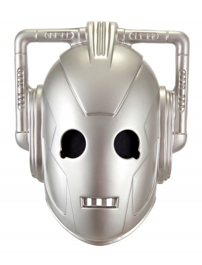 Cyberman Vacuform Mask, halloween costume (Cyberman Vacuform Mask)