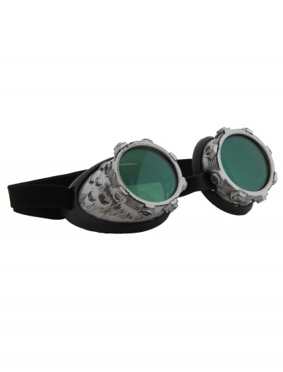 Cybersteam Goggles Silver, halloween costume (Cybersteam Goggles Silver)