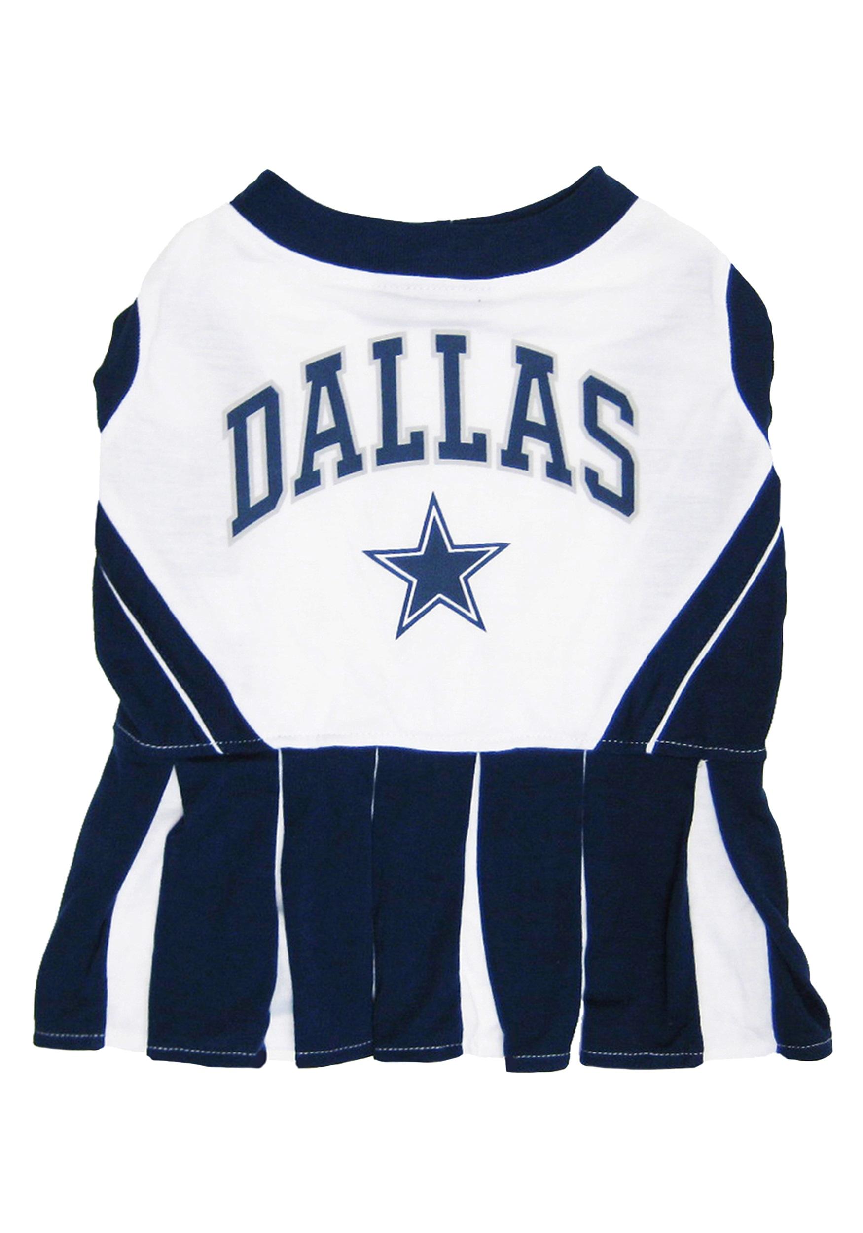 Dallas Cowboys Dog Cheerleader Outfit Halloween Costumes