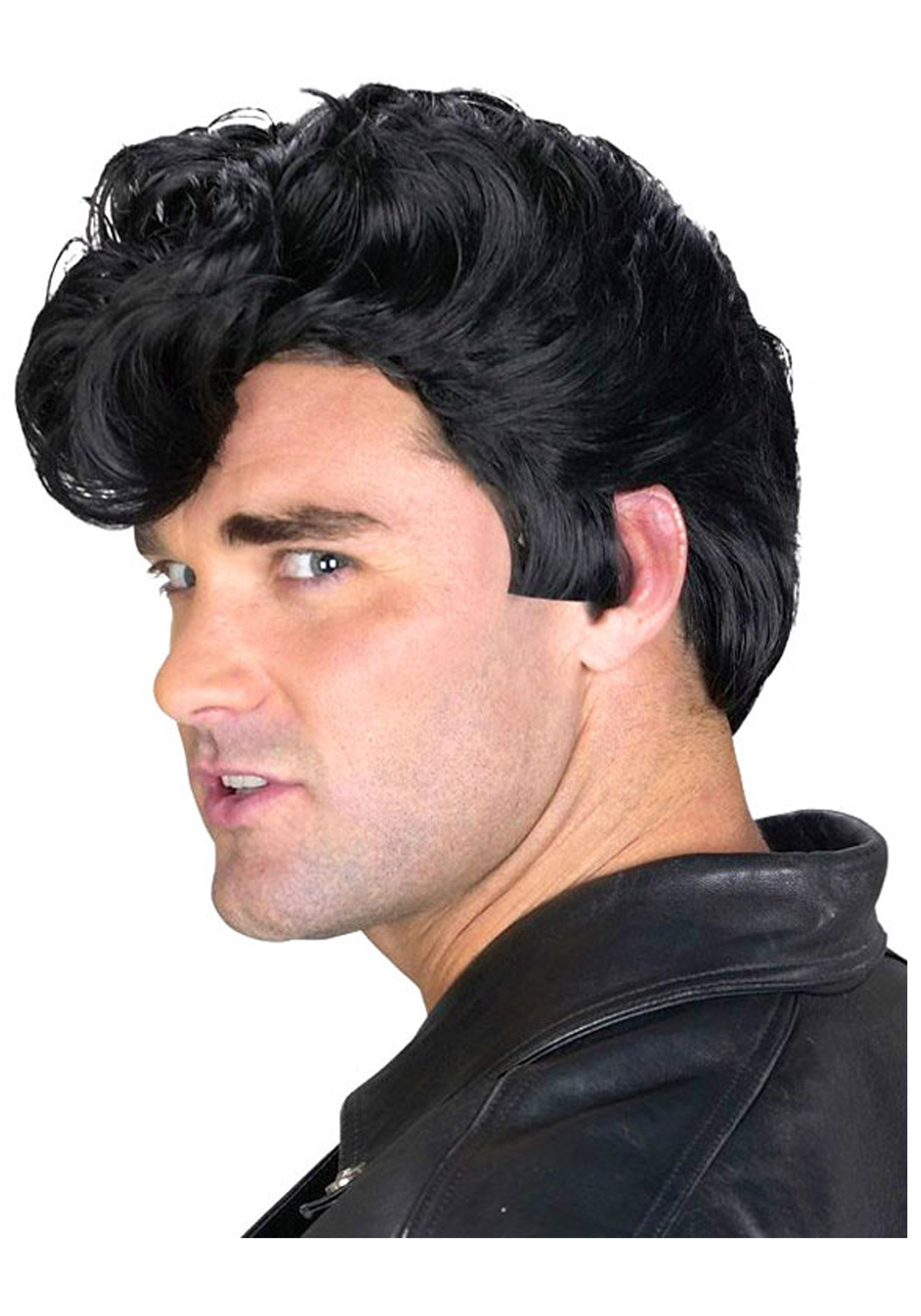 Mens 50s Greaser Wig  sc 1 st  Halloween Costumes & Mens 50s Greaser Wig - Halloween Costumes