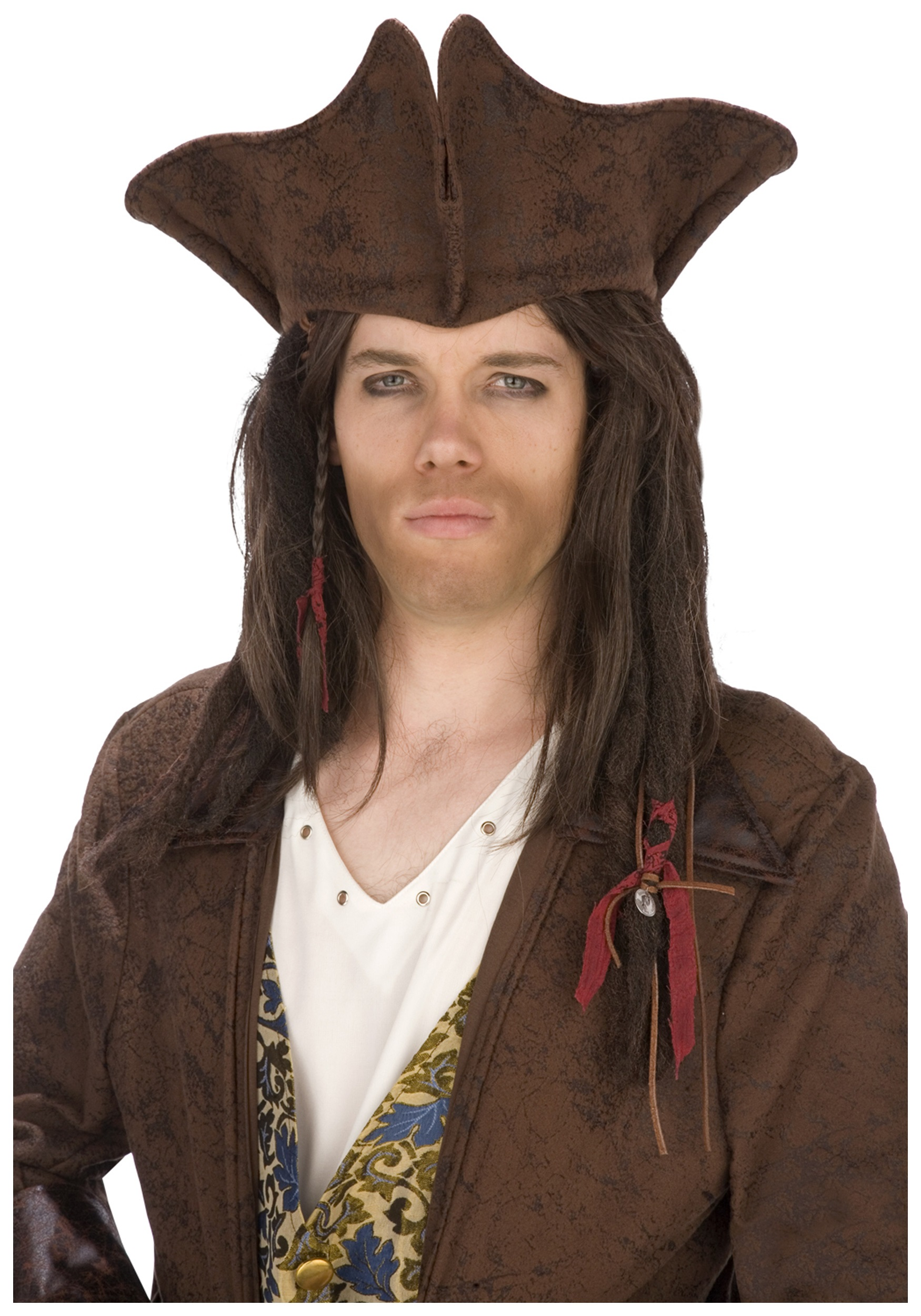 Dark Brown Pirate Hat  sc 1 st  Halloween Costumes & Dark Brown Pirate Hat - Halloween Costumes