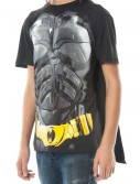 Dark Knight Cape T-Shirt, halloween costume (Dark Knight Cape T-Shirt)