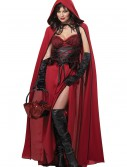 Dark Red Riding Hood Costume, halloween costume (Dark Red Riding Hood Costume)