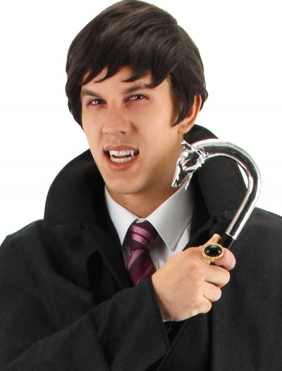 Dark Shadows Barnabas Fangs, halloween costume (Dark Shadows Barnabas Fangs)