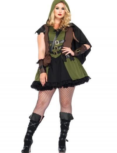 Darling Robin Hood Plus Size Costume, halloween costume (Darling Robin Hood Plus Size Costume)