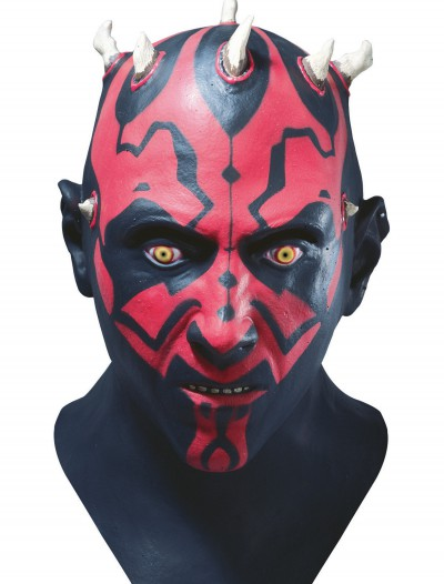 Darth Maul Deluxe Latex Mask, halloween costume (Darth Maul Deluxe Latex Mask)