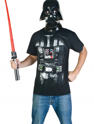 Darth Vader Costume T-Shirt, halloween costume (Darth Vader Costume T-Shirt)