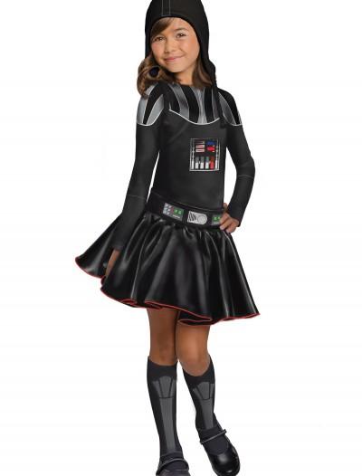 Darth Vader Girls Dress Costume, halloween costume (Darth Vader Girls Dress Costume)