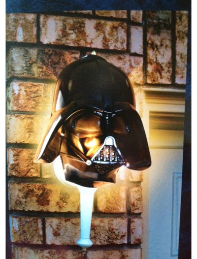 Darth Vader Porch Light Cover, halloween costume (Darth Vader Porch Light Cover)