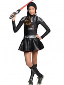 Darth Vader Tween Dress Costume, halloween costume (Darth Vader Tween Dress Costume)