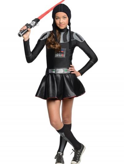 Darth Vader Tween Dress Costume, halloween costume (Darth Vader Tween Dress Costume)