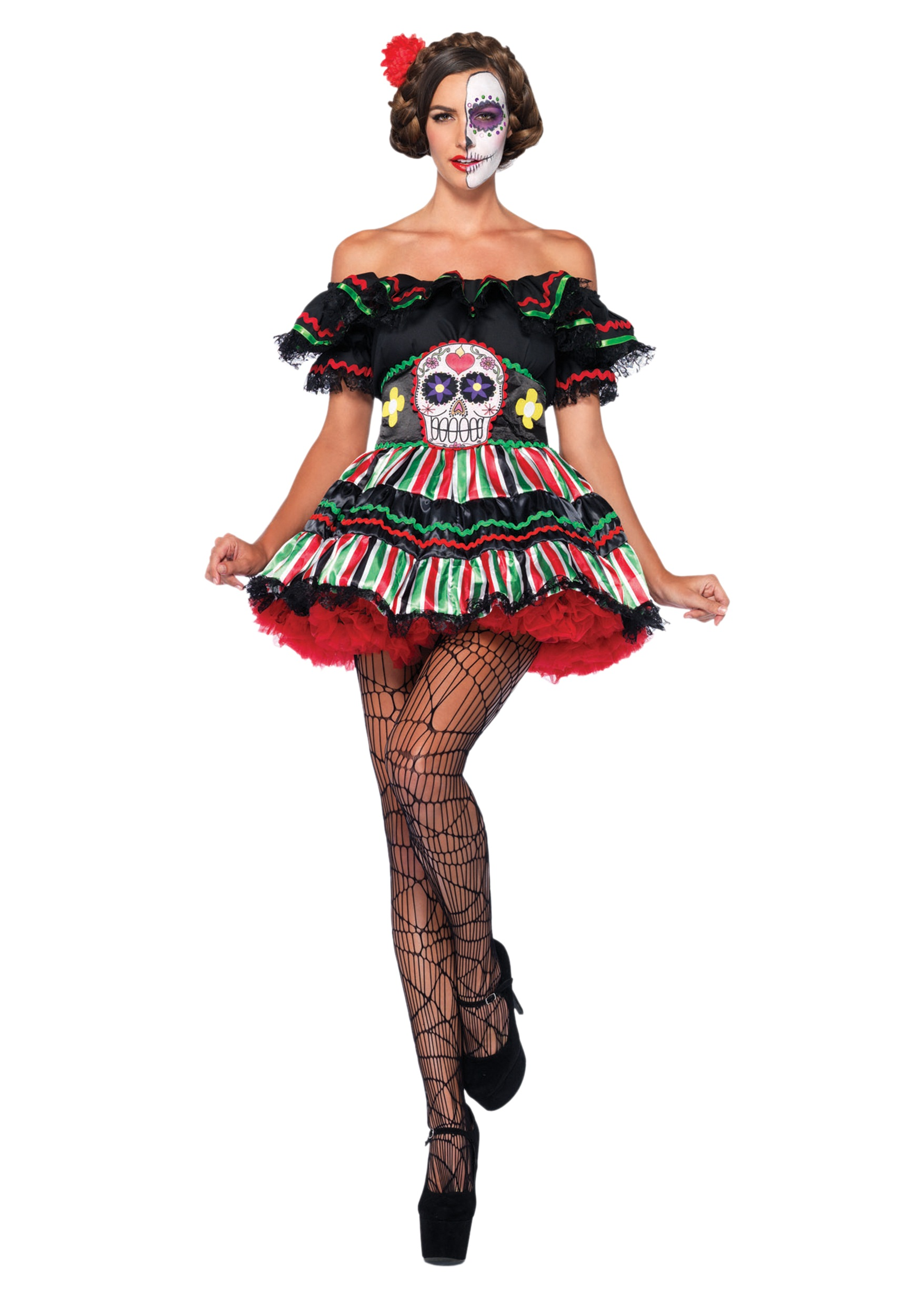 d4bdf831128 Day of the Dead Doll Costume