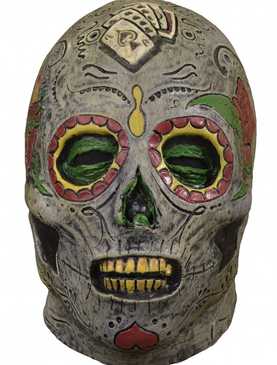 Day of the Dead Zombie Mask, halloween costume (Day of the Dead Zombie Mask)