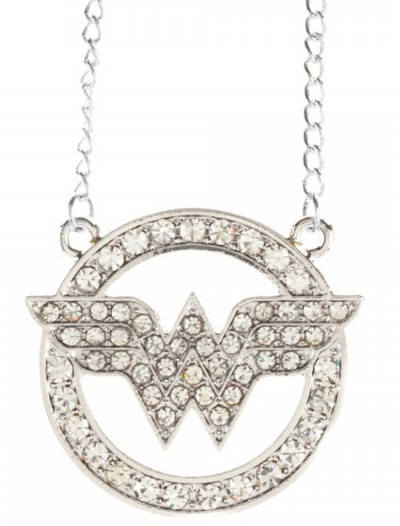DC Comics Wonder Woman Bling Necklace, halloween costume (DC Comics Wonder Woman Bling Necklace)