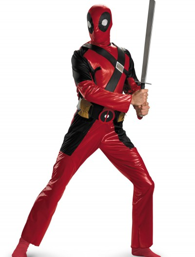 Deadpool Classic Adult Costume, halloween costume (Deadpool Classic Adult Costume)