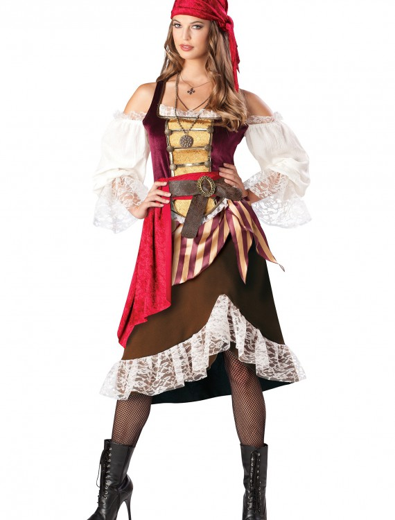 Deckhand Darlin' Pirate Costume, halloween costume (Deckhand Darlin' Pirate Costume)