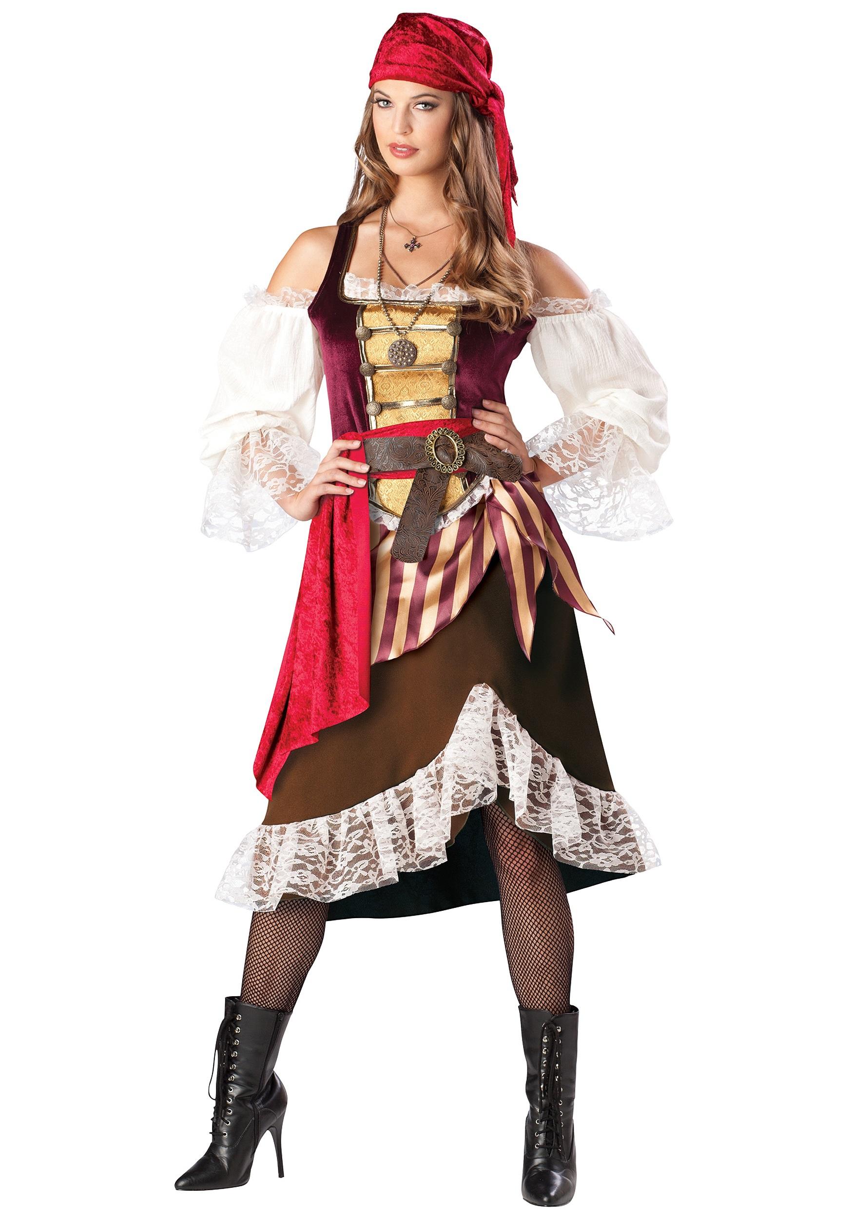 Костюм пират женский