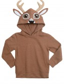 Deer Face Animal Hoodie, halloween costume (Deer Face Animal Hoodie)
