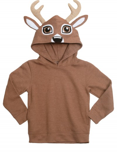 Deer Face Animal Hoodie, halloween costume (Deer Face Animal Hoodie)