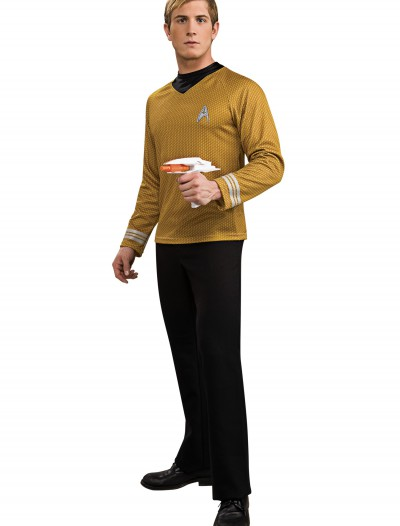 Deluxe Adult Captain Kirk Costume, halloween costume (Deluxe Adult Captain Kirk Costume)