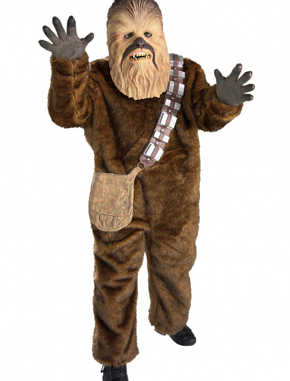 Deluxe Adult Chewbacca Costume, halloween costume (Deluxe Adult Chewbacca Costume)