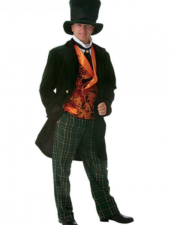 Deluxe Adult Mad Hatter Costume, halloween costume (Deluxe Adult Mad Hatter Costume)