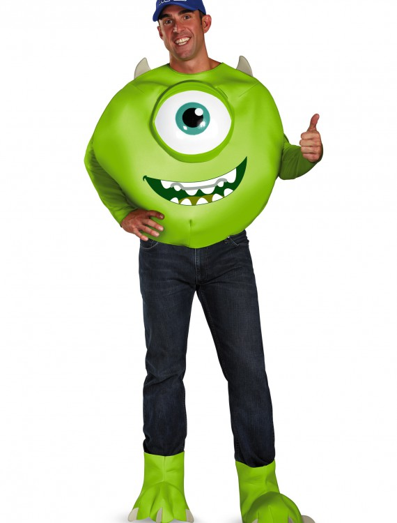 Deluxe Adult Mike Costume, halloween costume (Deluxe Adult Mike Costume)