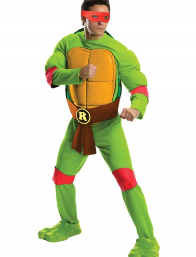 Deluxe Adult Raphael, halloween costume (Deluxe Adult Raphael)