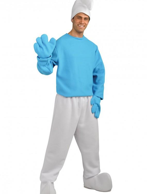 Deluxe Adult Smurf Costume, halloween costume (Deluxe Adult Smurf Costume)