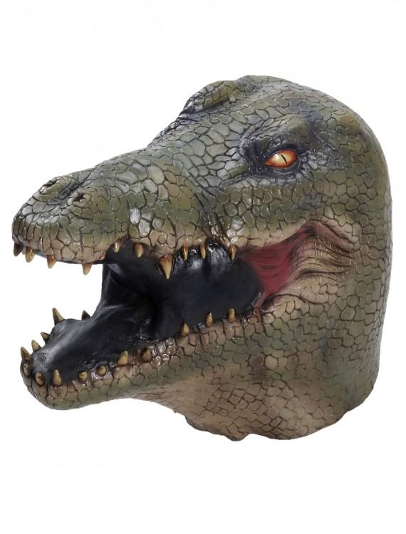 Deluxe Alligator Latex Mask, halloween costume (Deluxe Alligator Latex Mask)