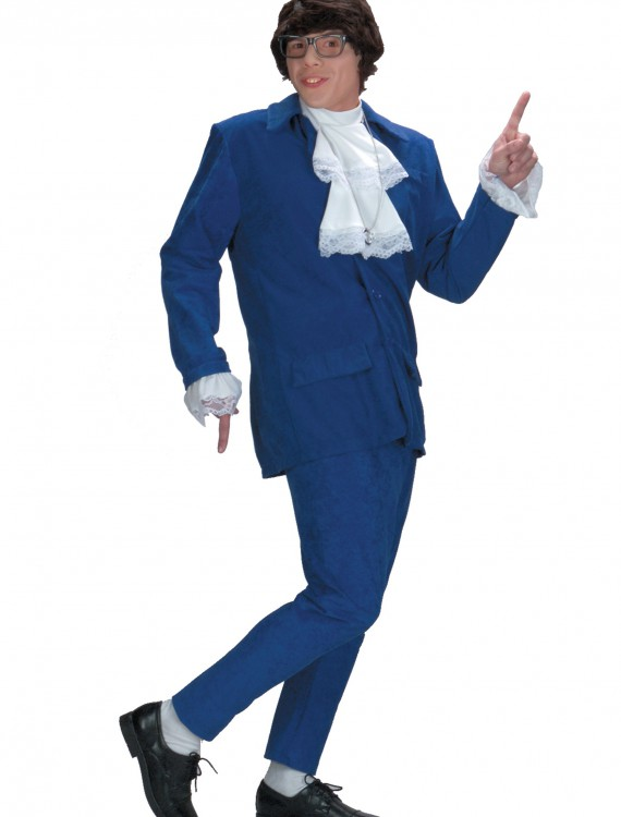 Deluxe Austin Powers Costume, halloween costume (Deluxe Austin Powers Costume)