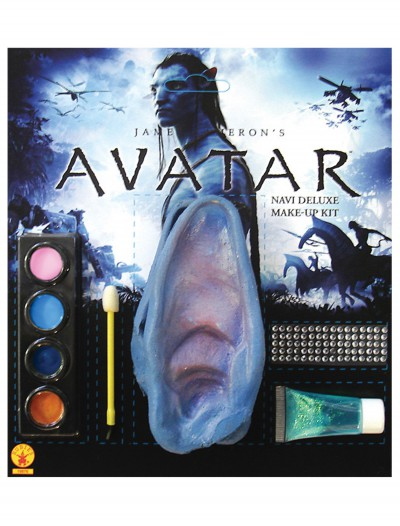 Deluxe Avatar Na'vi Makeup Kit, halloween costume (Deluxe Avatar Na'vi Makeup Kit)