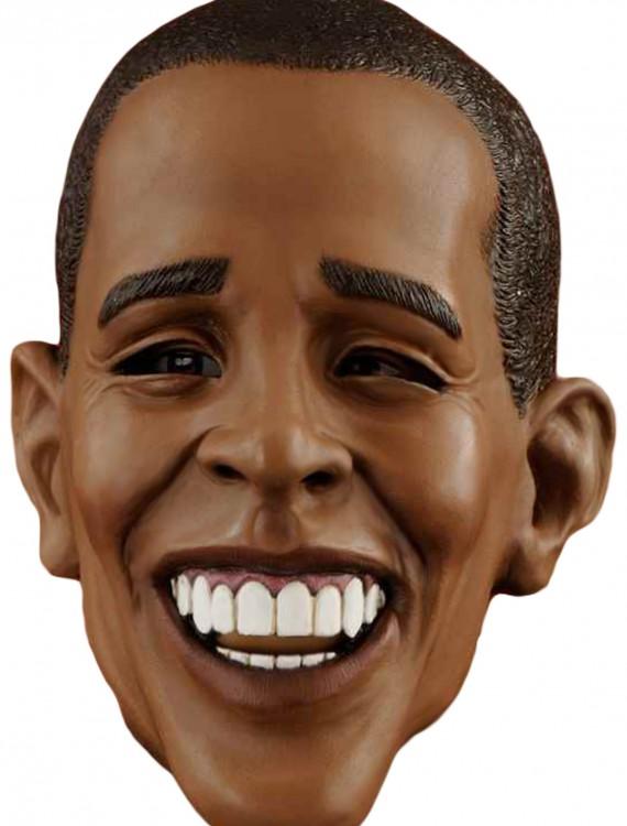 Deluxe Barack Obama Mask, halloween costume (Deluxe Barack Obama Mask)