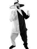 Deluxe Black and White Spy Costume, halloween costume (Deluxe Black and White Spy Costume)