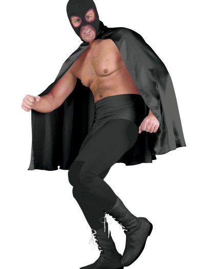 Deluxe Black Superhero Cape, halloween costume (Deluxe Black Superhero Cape)