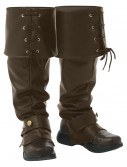 Deluxe Brown Boot Tops, halloween costume (Deluxe Brown Boot Tops)