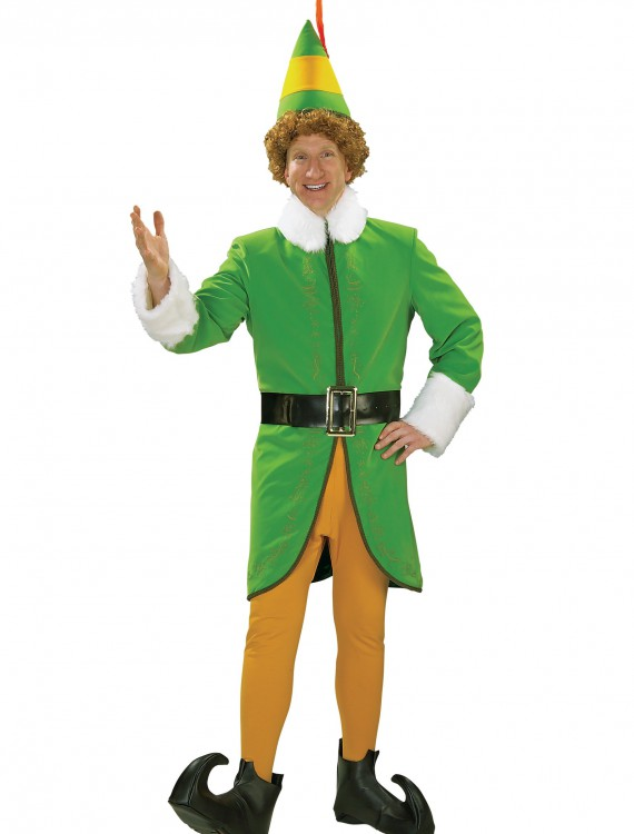 Deluxe Buddy the Elf Costume, halloween costume (Deluxe Buddy the Elf Costume)